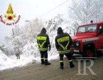 Neve in Irpinia, auto bloccate sul Laceno