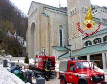 Anziani 80enni dispersi a Montevergine, soccorsi dai vigili del fuoco