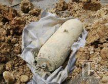 Bomba rinvenuta tra i castagneti a Solofra, rimossa e fatta brillare
