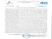 CONSORZIO DI BONIFICA DELL'UFITA - avviso di avvio del procedimento di esproprio, concernente i lavori di Interconnessione sistemi idraulici CUP E87B15000490009