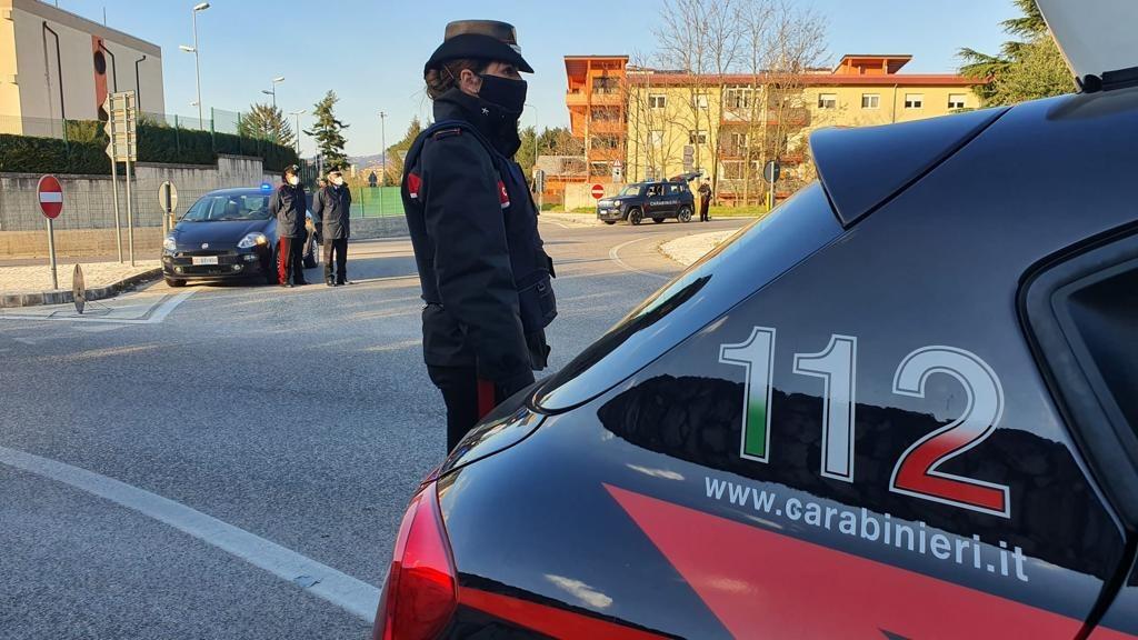 Covid, stretta sui controlli da parte dei carabinieri