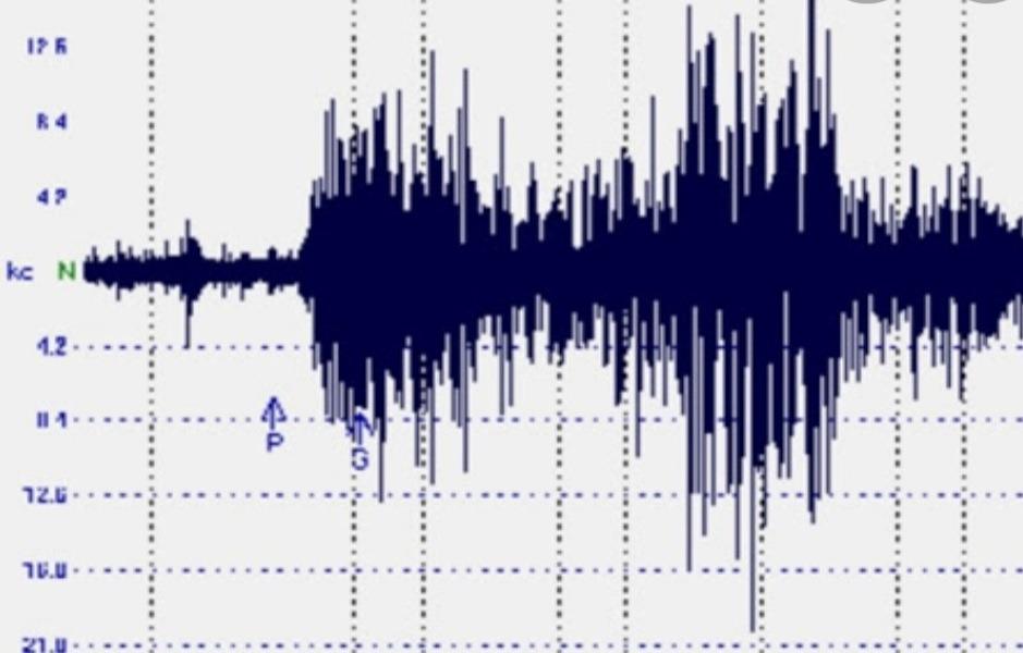 Scossa di terremoto in Irpinia, l'epicentro a Zungoli