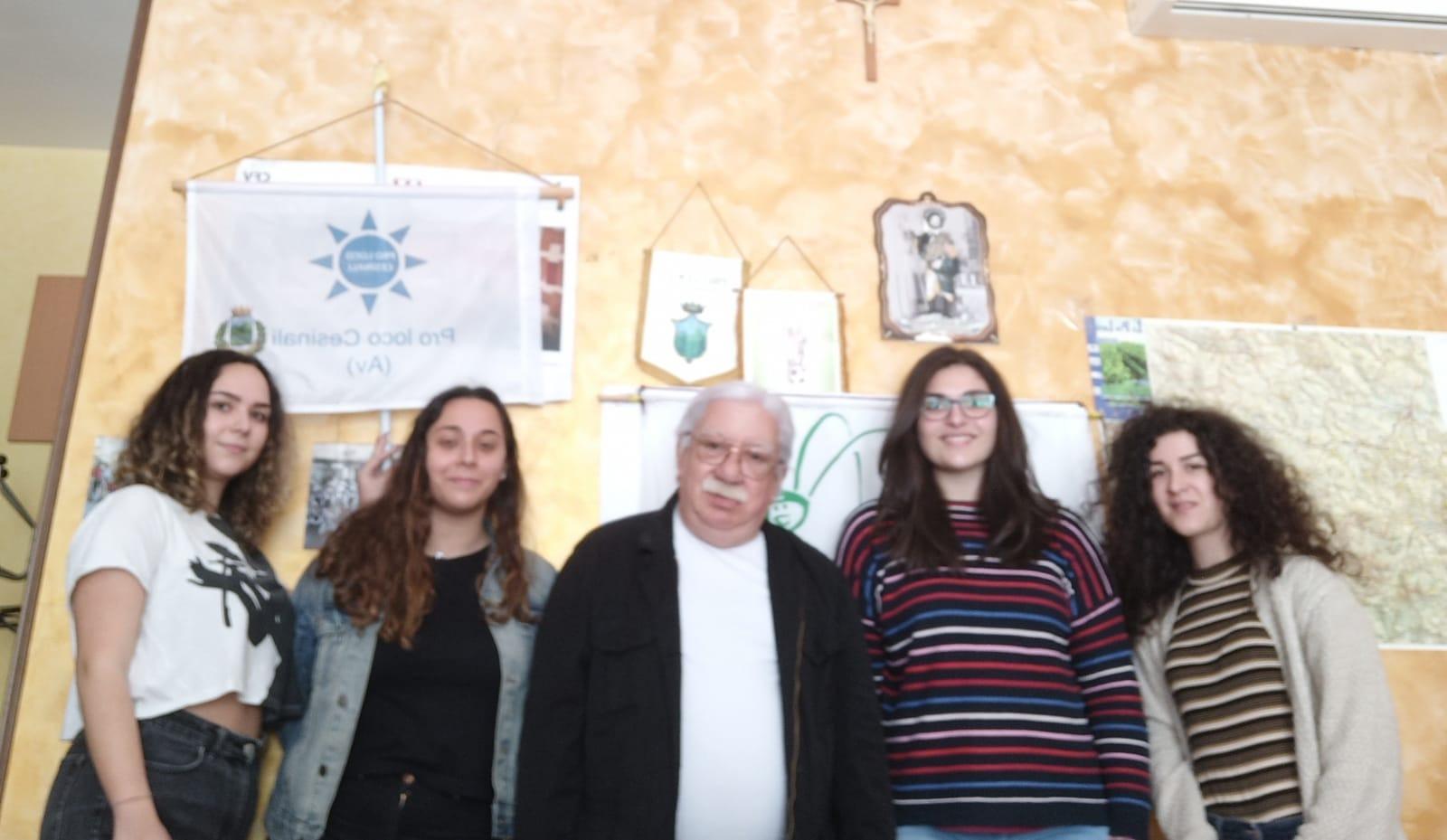 Cesinali, il Servizio Civile si colora di rosa: impegnate quattro giovani volontarie