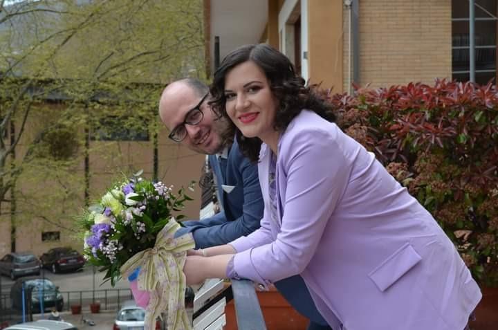 Fabio e Tecla coronano il loro sogno d'amore