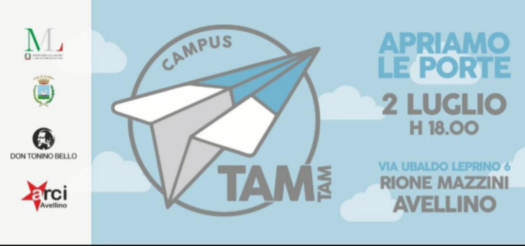 Avellino, s'inaugura la nuova sede Tam Tam 2.0- Rione Mazzini