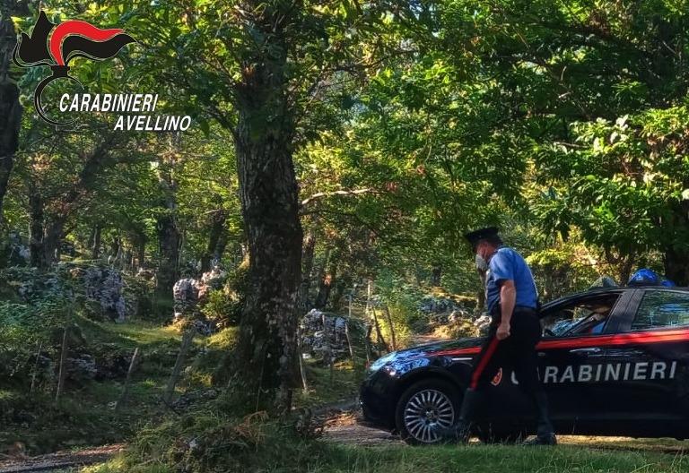 Perdono l'orientamento durante un'escursione sui Monti Picentini, salvati dai Carabinieri