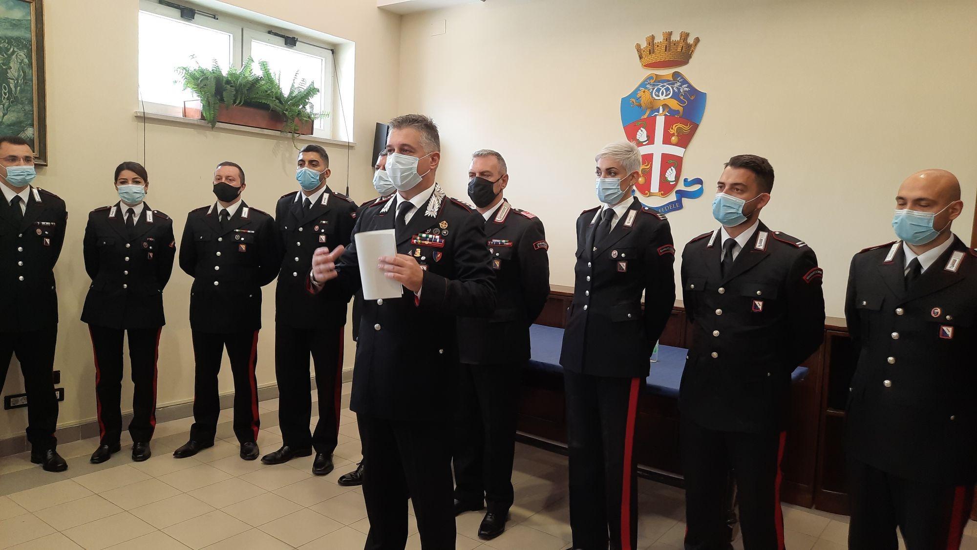 Carabinieri, ecco i 14 nuovi comandanti di stazione. Tra questi anche due donne
