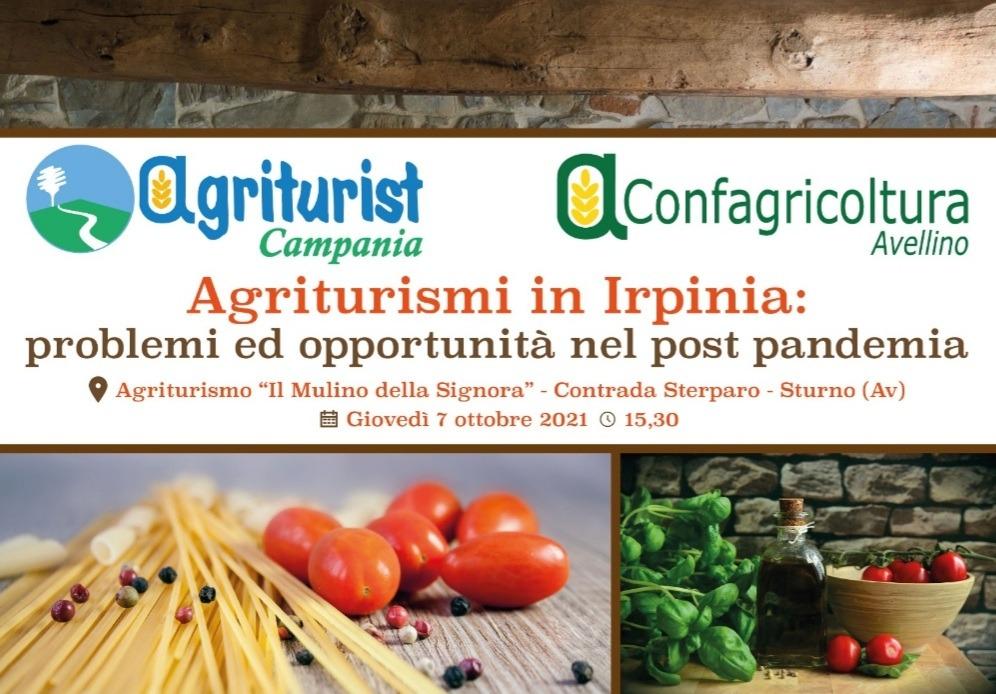 Agriturismi in Irpinia, a Sturno l'incontro organizzato da Confagricoltura Avellino